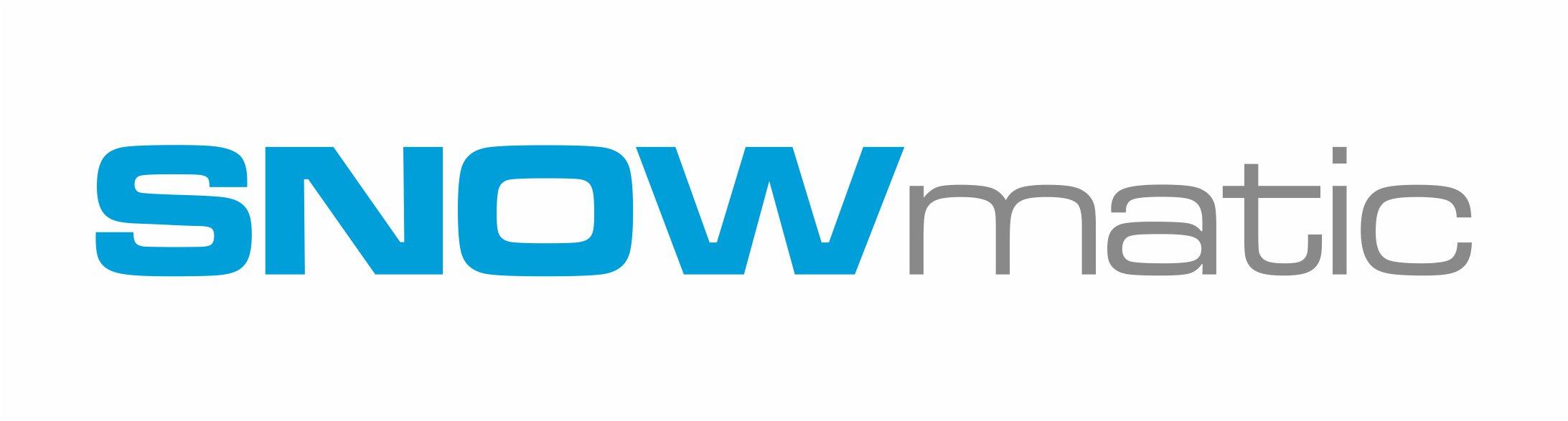 Logotyp Snowmatic kolor